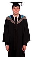 Foundation degree gown (front)