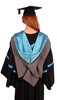 Foundation degree gown (back)