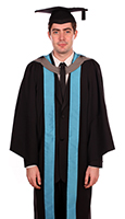 Bachelors degree gown (front)