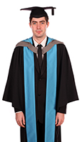 Postgraduate degree gown (front)