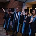 Faculty of Computing, Information Systems and Mathematics graduation, Friday 15 January 2010