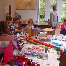 Dorich House Museum family half-term workshop
