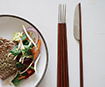 Product and furniture design student fuses chopsticks with knives and forks to create East meets West cutlery range