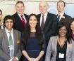 Business Secretary Vince Cable praises enterprising nursing graduate
