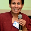 Guest speaker, Chitra Andrade