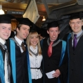 Graduation ceremonies, Tuesday 30 October 2012