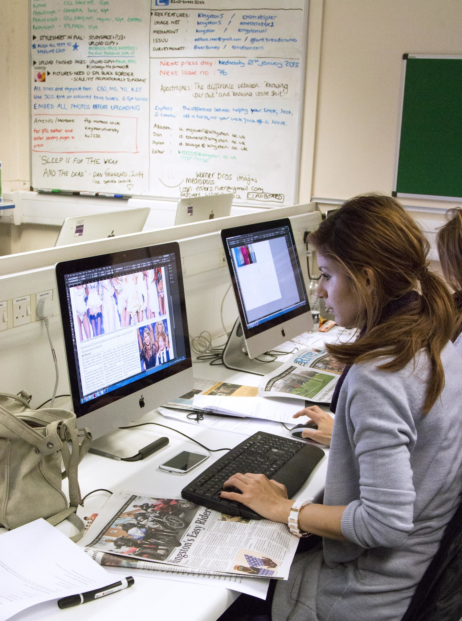 Work placements for fashion students