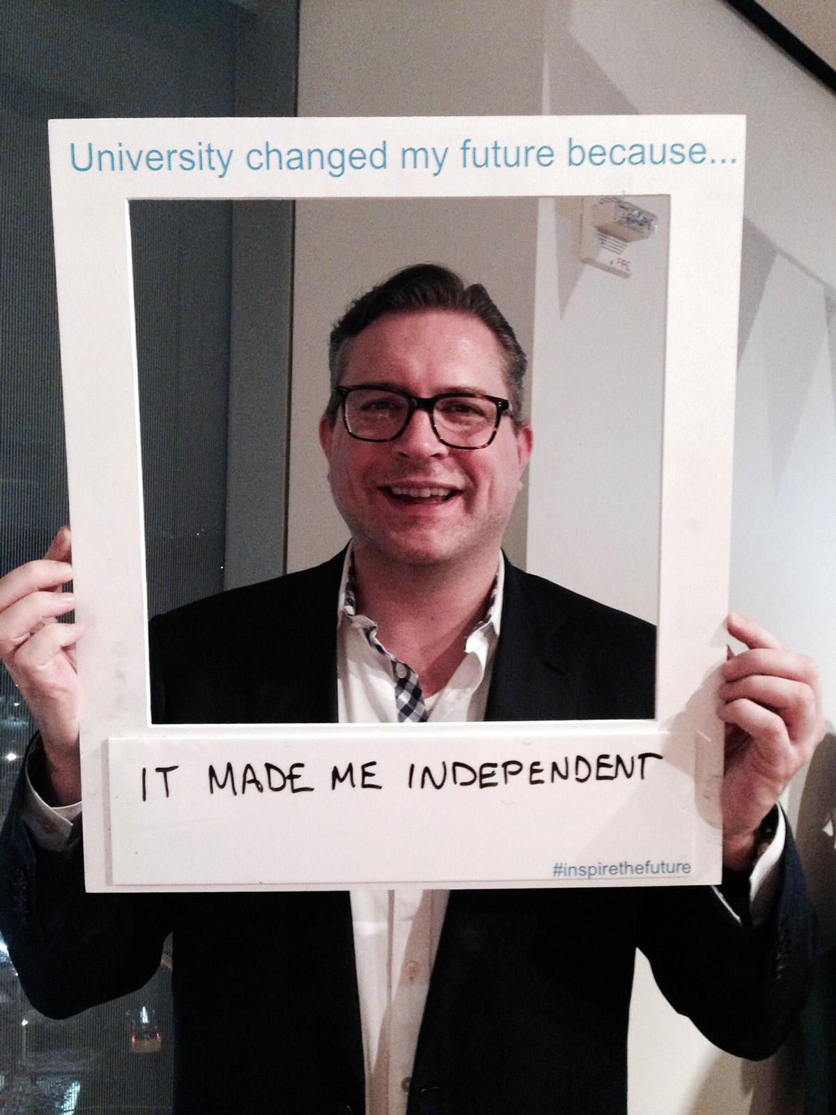 It made me independent. (Simon Russell, Economics BA, 1994)