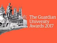 Kingston University wins Guardian University Award for teaching excellence