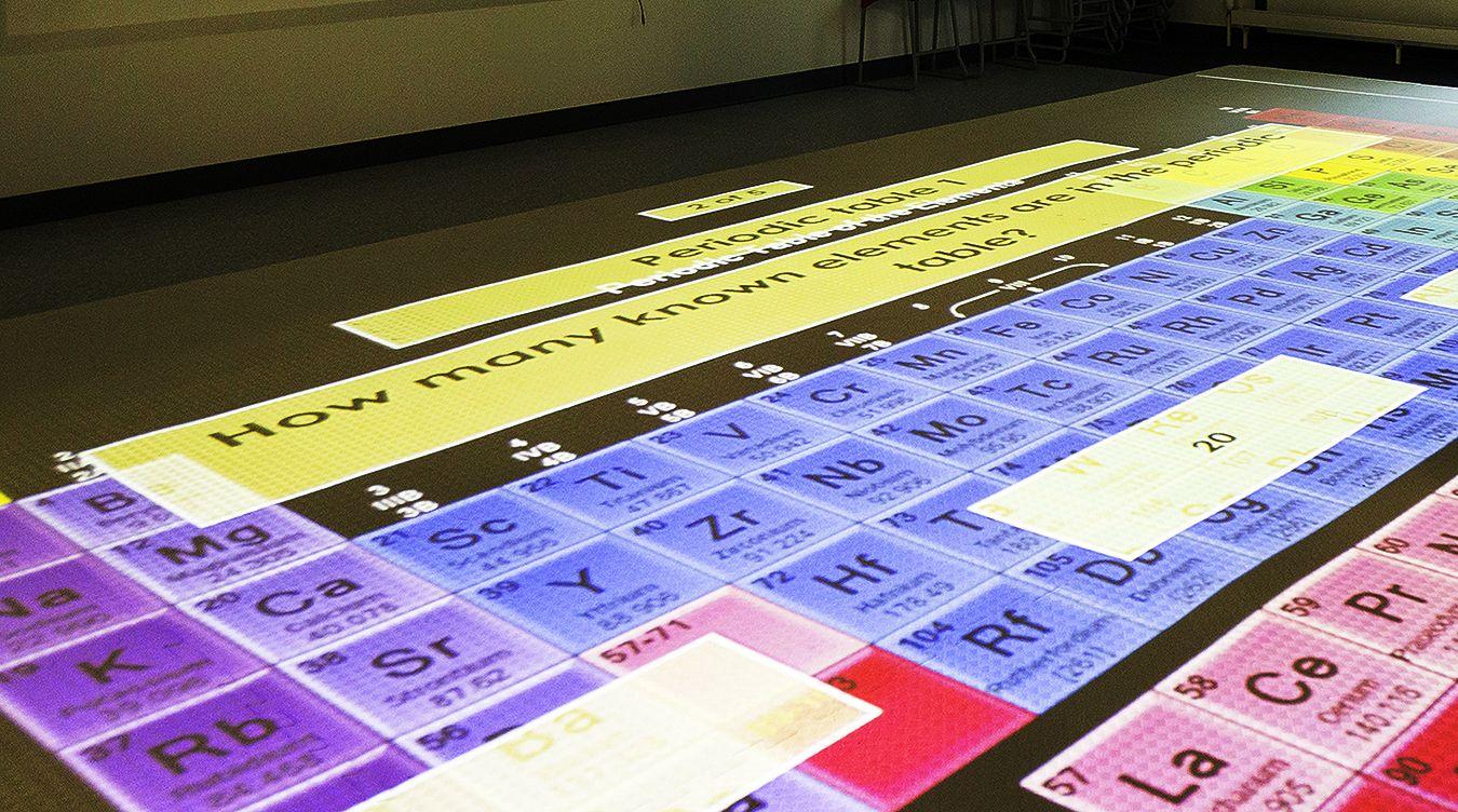 Picture of interactive floor