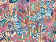 Communication Design: Illustration MA show 2015