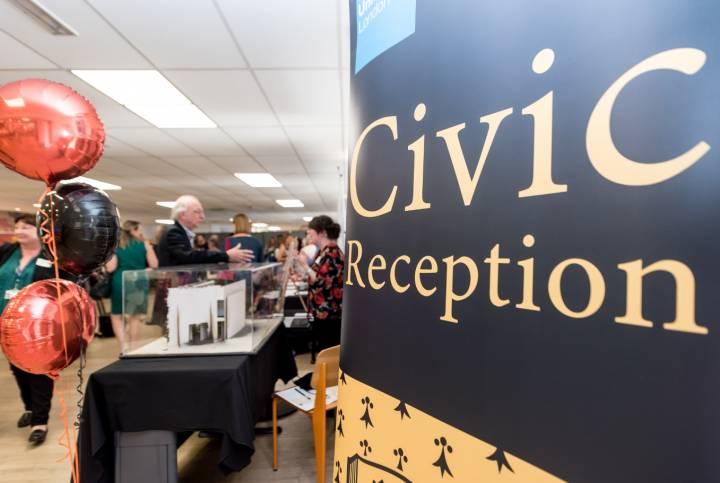 Kingston University Civic Reception 2018
