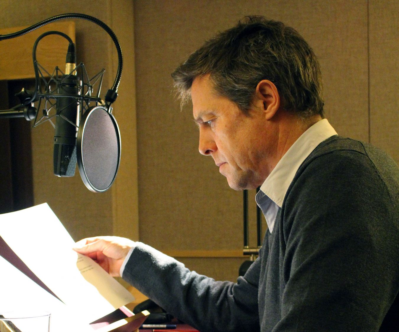 Hugh Grant reads from Wellington\'s dispatch