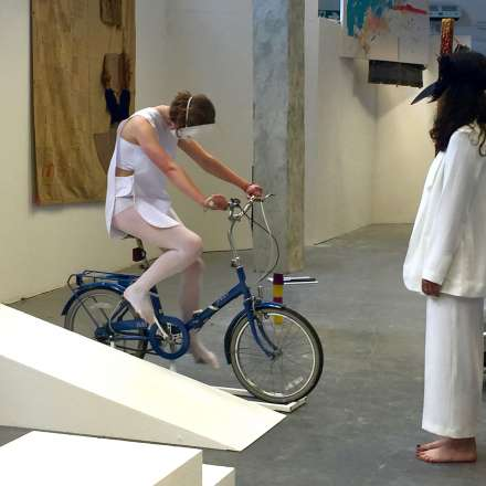 Year 3 Degree Show Performance (Naz Balkalaya, Emilia Demetriadou)