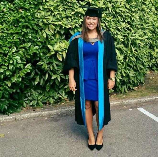Psychology graduate Charlotte Rose