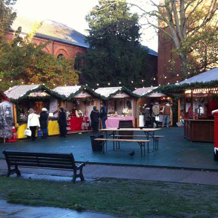 Kingston's Christmas market
