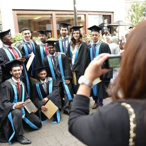 Kingston University celebrates success of research, postgraduate and undergraduate students during week of graduation ceremonies