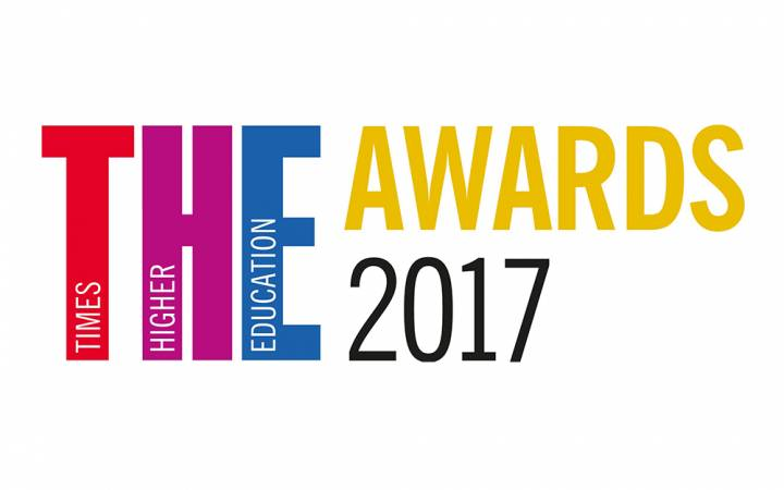 Kingston University in the running for two accolades in newly released Times Higher Education Awards' shortlist