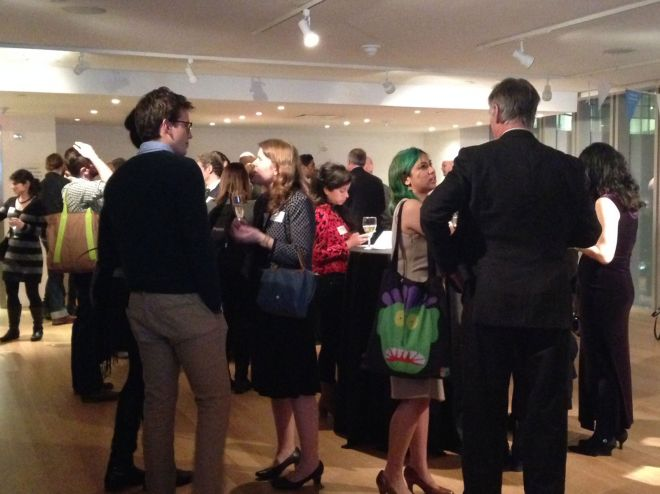 Kingston University alumni at New York reception
