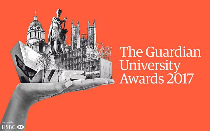 Kingston University wins 2017 Guardian University award for teaching excellence
