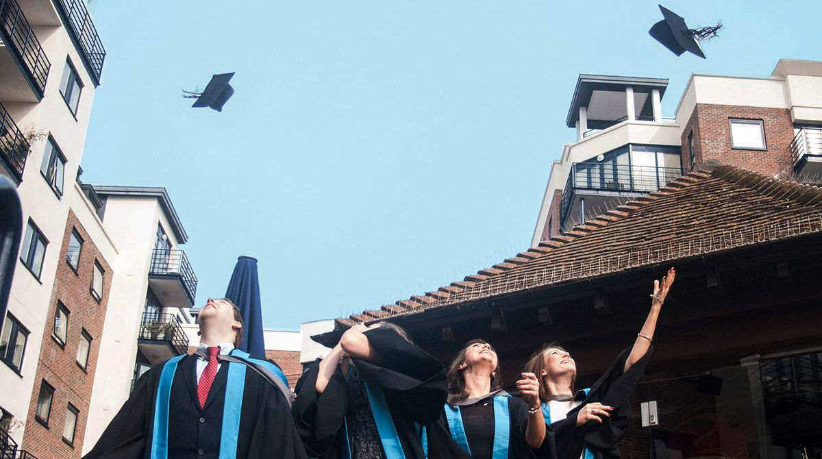 Graduation film welcomes the class of 2015 into the Kingston University Alumni Association