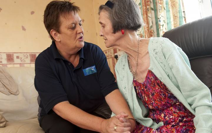 More support needed to protect home carers from emotional pressures of supporting people with dementia, report co-authored by Kingston University expert reveals