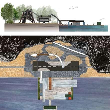 MA Landscape - Rebecka Gullstrand - Le-Havre - Post-industrial Beach