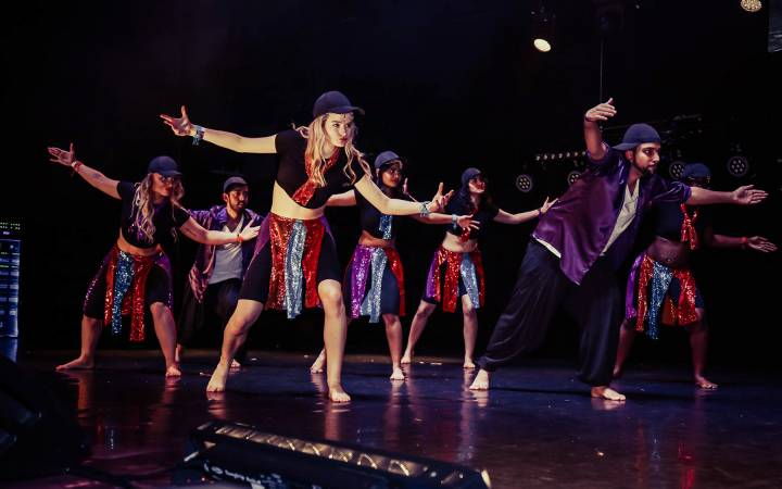 Kingston University multicultural dance troupe impress judges to secure second place at national Bollywood competition