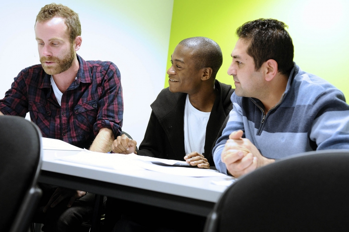 Postgraduate students at Kingston University