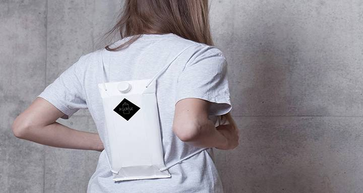 Kingston University graduate's backpack design offers music fans a sleek option to stay hydrated and keep drinks out of harm's way at festivals
