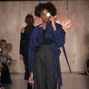Kingston University's MA Fashion students showcase latest collections to industry experts on eve of London Fashion Week