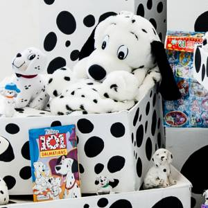 Kingston University fine art graduate gets it spot on with 101 Dalmatian-inspired installation