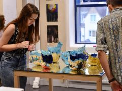 Foundation Studies in Art & Design show 2015