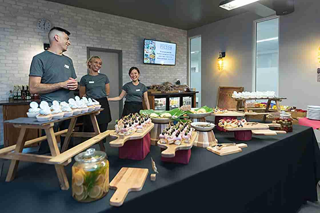 Global food and complimentary drinks