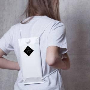 Kingston University graduate wins Red Dot communication design award for innovative backpack to keep drinks safe at festivals