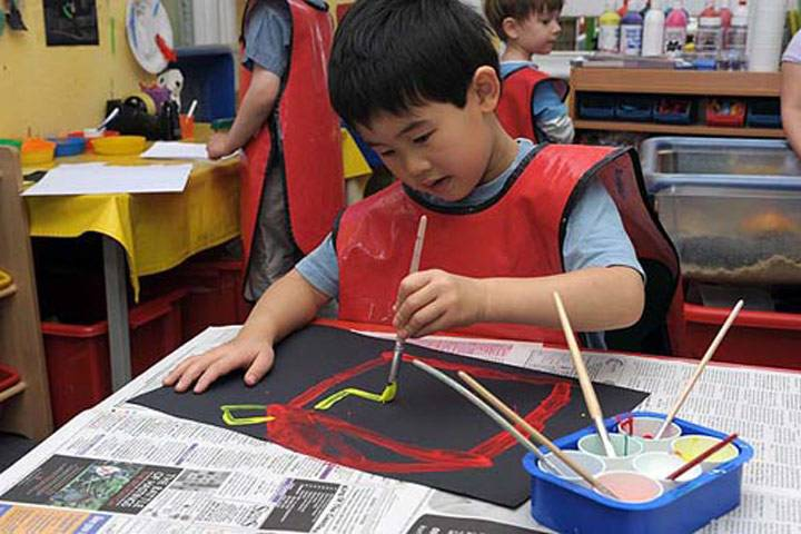 Children learning through play
