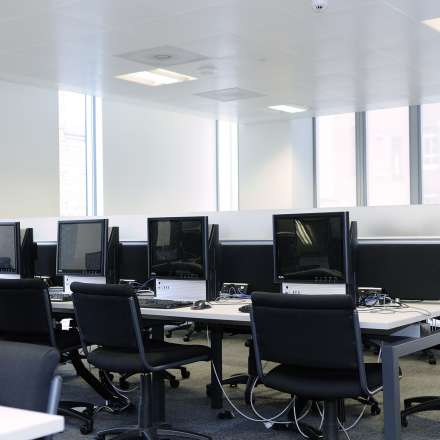 Computer lab at Penrhyn Road campus
