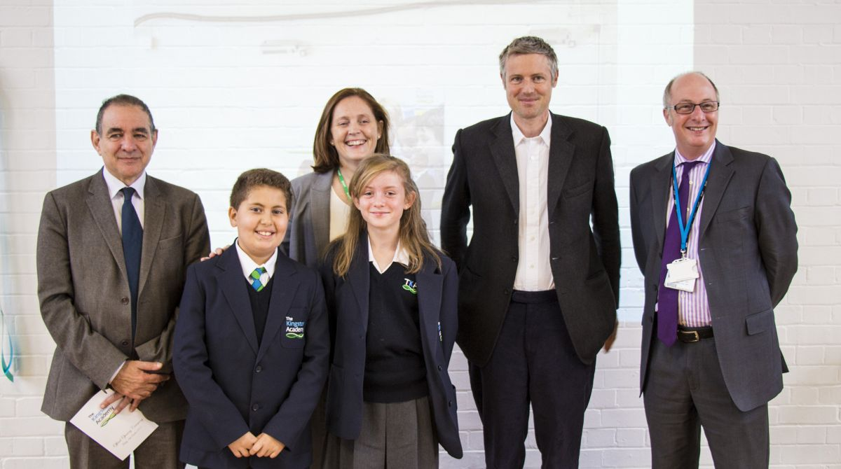 The Kingston Academy officially opens its doors with headteacher Sophie Cavanagh welcoming opportunity to work closely with trust partner Kingston University