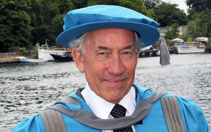 Luminary of film and theatre world Simon Callow awarded Kingston University honorary degree