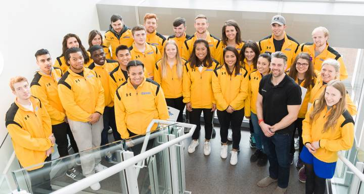 Olympian Asha Philip encourages promising athletes to dream big while on Kingston University's Sports Performance Programme