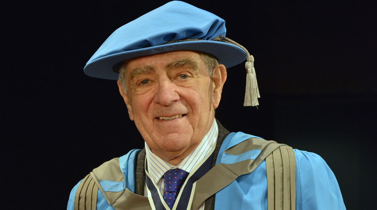 Former advertising agency supremo and community ambassador Colonel Geoffrey Godbold awarded honorary doctorate by Kingston University