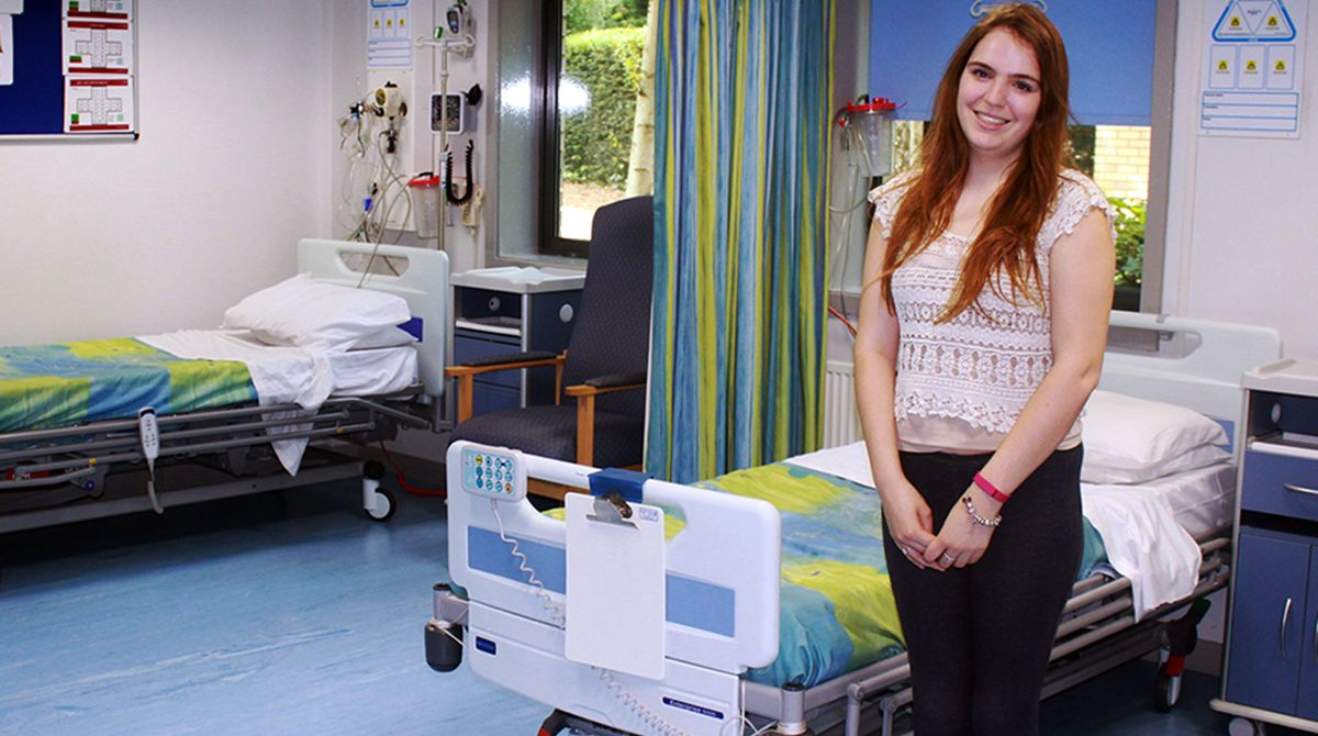 Call to Kingston University's Clearing hotline proves perfect cure for student nurse