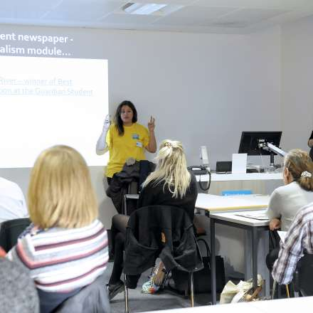 Open Day Journalism talk