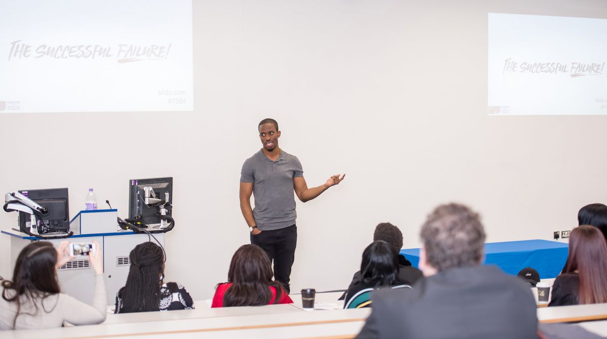 Alumni share their stories of failure with Kingston University students