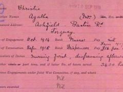 Kingston University volunteers help historians complete landmark digital archive project of British Red Cross World War One volunteers