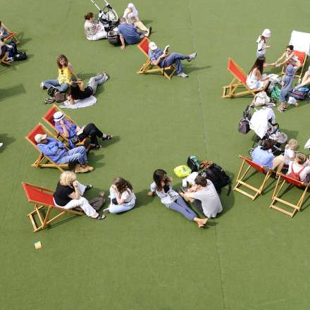 London's Southbank Centre is a great place to relax and absorb some culture at no extra cost!