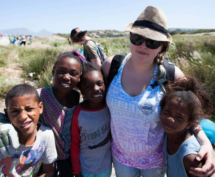 Students from the School of Geography, Geology and the Environment 'think critically to make a difference' for South African settlement