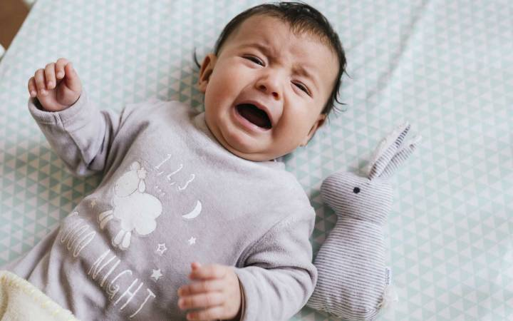 Is your child a crybaby? New comparison chart developed by Kingston University researcher sheds light on tiny tots' tears