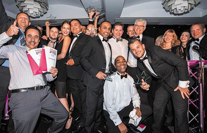 Kingston Business Excellence Awards party