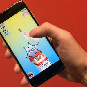Kingston University academics play key part in project to devise smartphone app that uses games technology to help smokers kick the habit